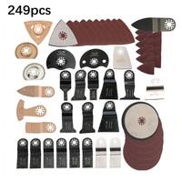 249 pcs/Set Oscillating Multi function Tool For renovator power tools accessory