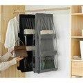Сумочка подвесной шкаф Органайзер Прозрачный 6 карманов игрушка дверь настенная сумка для хранения Органайзер армарио подвесной шкаф Орга...