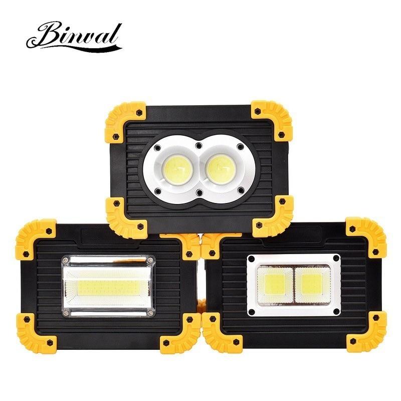 Tragbare Beleuchtung Binval Led Tragbare Scheinwerfer Flutlicht Led Arbeit Licht Usb Aufladbare Batterie Outdoor Licht Für Jagd Camping Taschenlampe Tragbare Scheinwerfer