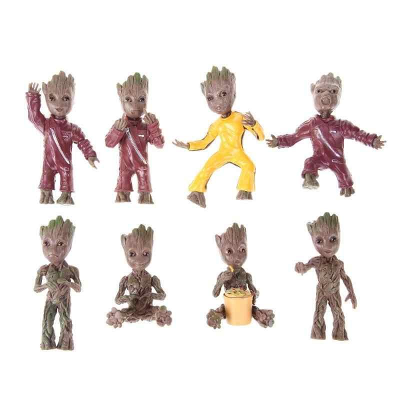 Figuras Brinquedos Keychain Móc Chìa Khóa Mặt Dây Chuyền Túi Búp Bê Vườn Trang Trí Nội Thất Dễ Thương Mô Hình Đồ Chơi Anh Hùng Mô Hình Cây Bé Người Đàn Ông Vườn Hoa Trang Trí Nội Thất