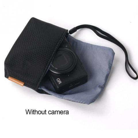 Digital Camera Case Portable Nylon Protective Carrying Pouch strap Cushion Pocket Case hand Bag For Sony Cameras #08 Islamabad