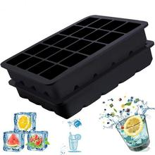 купить Silicone 20-compartment Ice Cube Tray Free Of Toxic Versatile Ice Cube Mould Reusable Easy To Clean Ice Tray For DIY Chocolate дешево