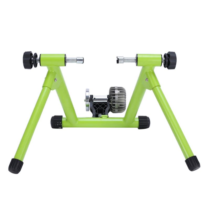Bike Trainer Fluid Resistance Riding Platform for Bicycle Road Mountain Machine Magnetic and Oil Resistant Indoor Ridin Platform