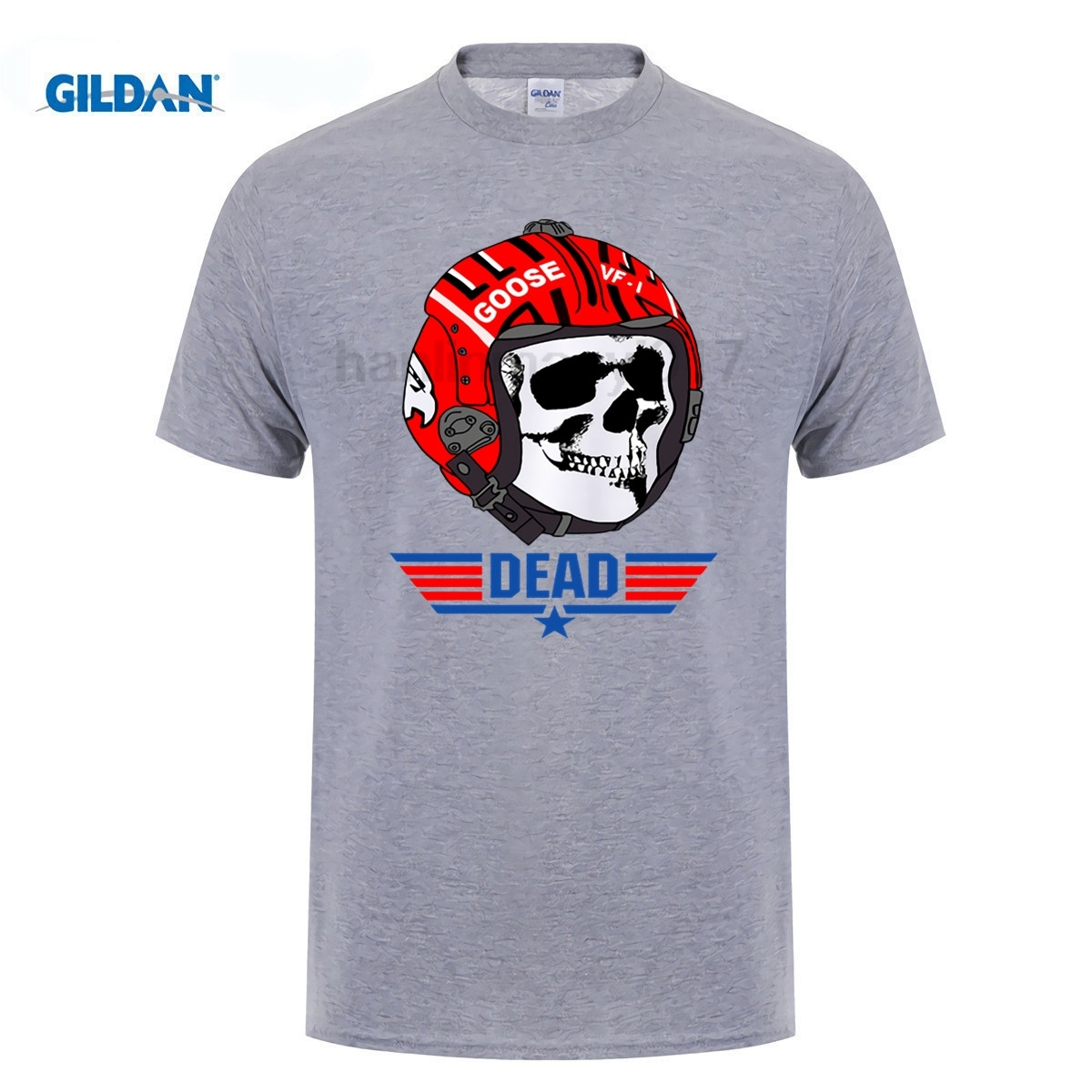 GILDAN mans t shirts brand summer maverick Short Sleeve T Shirts Man Clothing Shirt Top Tee Maverick Gun T-Shirt