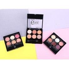 Blueness 6 Colors Eye Shadow Palette 3 Designs Professional Waterproof Lasting Powder Matte Glitter Makeup Eyeshadow