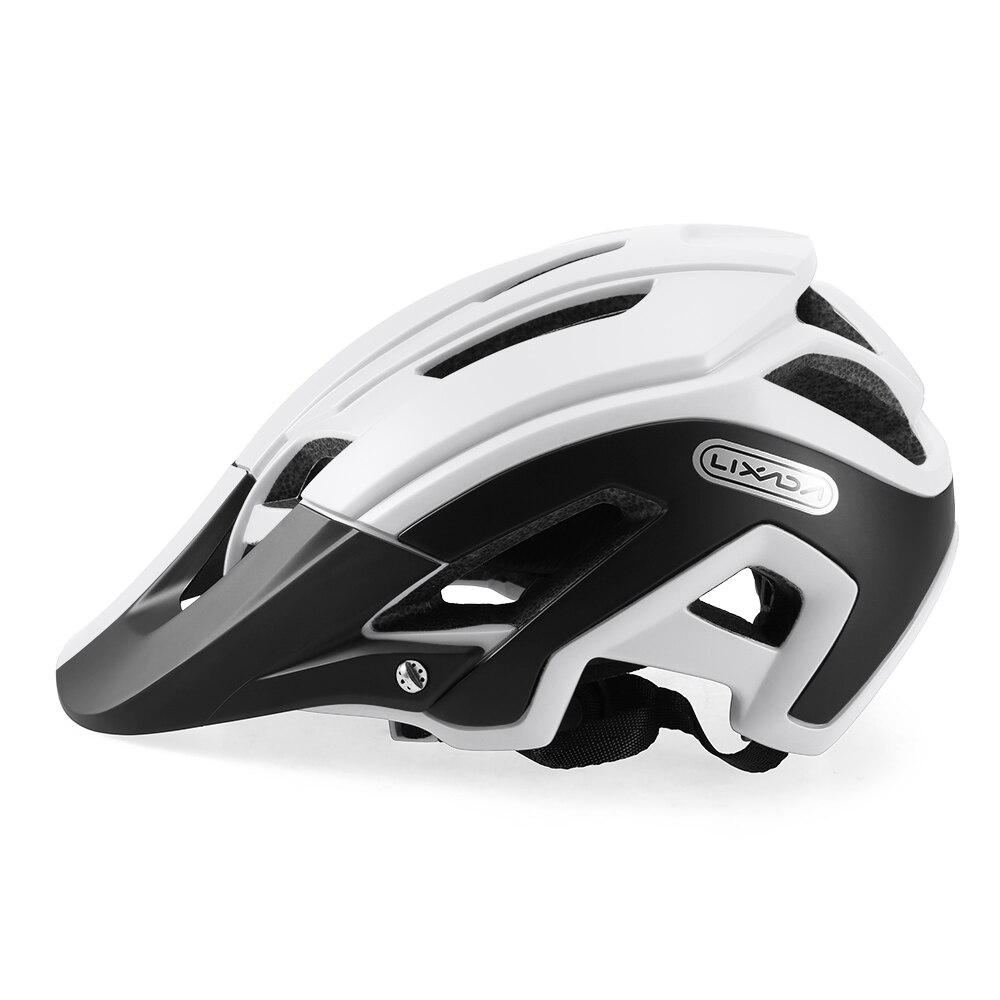 Lixada Cycling-Helmet Bike Adjustable Sports with Detachable-Visor MTB 56-62cm/Bike/Sports