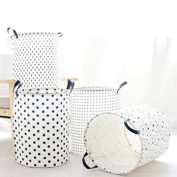 e8d031291 ORZ gran lavandería cesta 65L organizador de baño cesta de almacenamiento  para los juguetes bolsa de lavandería cesta casa caja de almacenamiento de  ...