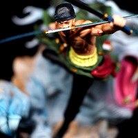 DIANXIA высокая 23 см аниме One Piece Зоро боевое состояние фигурку игрушечные лошадки для детей Коллекция настольные украшения DX036