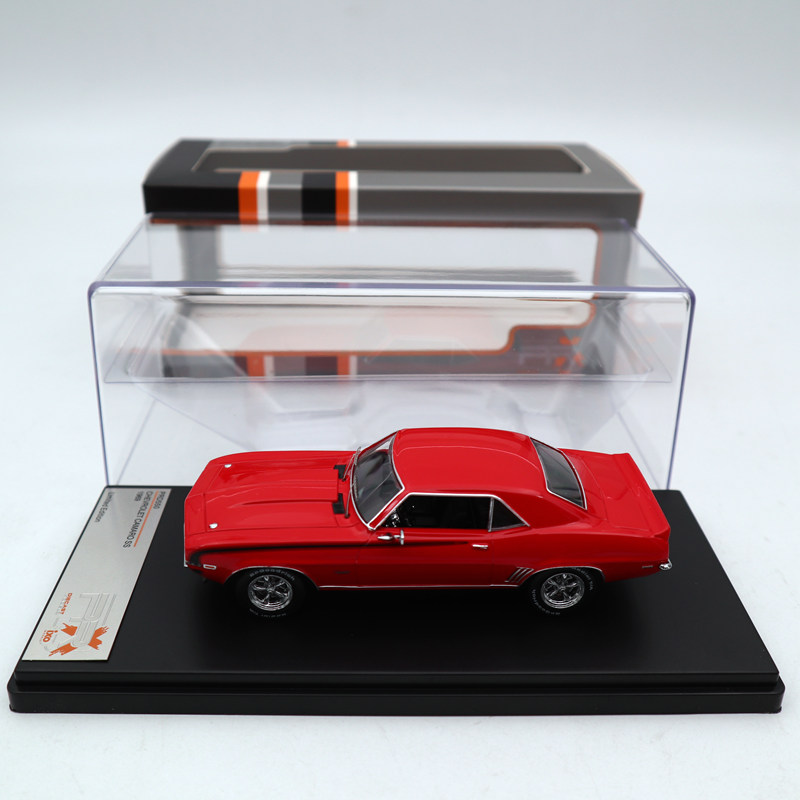 Premium X 1 43 Chevrolet Camaro SS 1969 RED PRD550 Diecast Models Limited Edition Collection