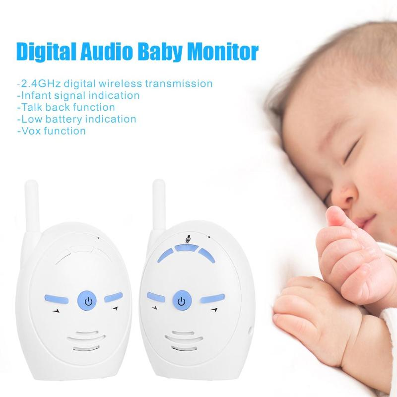 Wireless Newborn Baby Monitor Infants Audio Radio Walkie Talkie Intercome Interphone Baby Sleeping Monitor Safety Care Tool