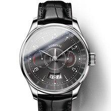2e4ec27034a Suíça Homens Mecânicos Automáticos Relógios LOBINNI Me Movemen Japão Miyota  Relógio de Luxo Da Marca de Safira À Prova D  Água r.