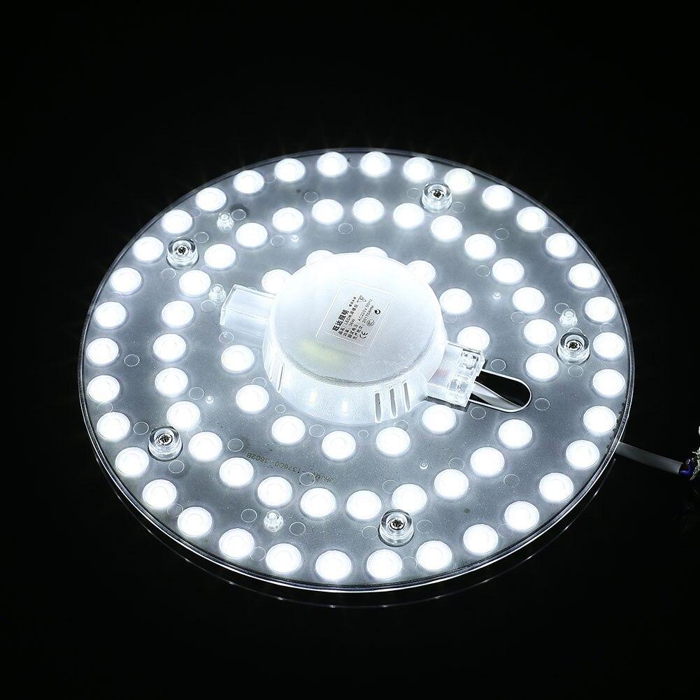 Потолочный светильник светодиодный запасной модуль освещения 220 V 230 мм 3300LM 0.251A 36 Вт круглый