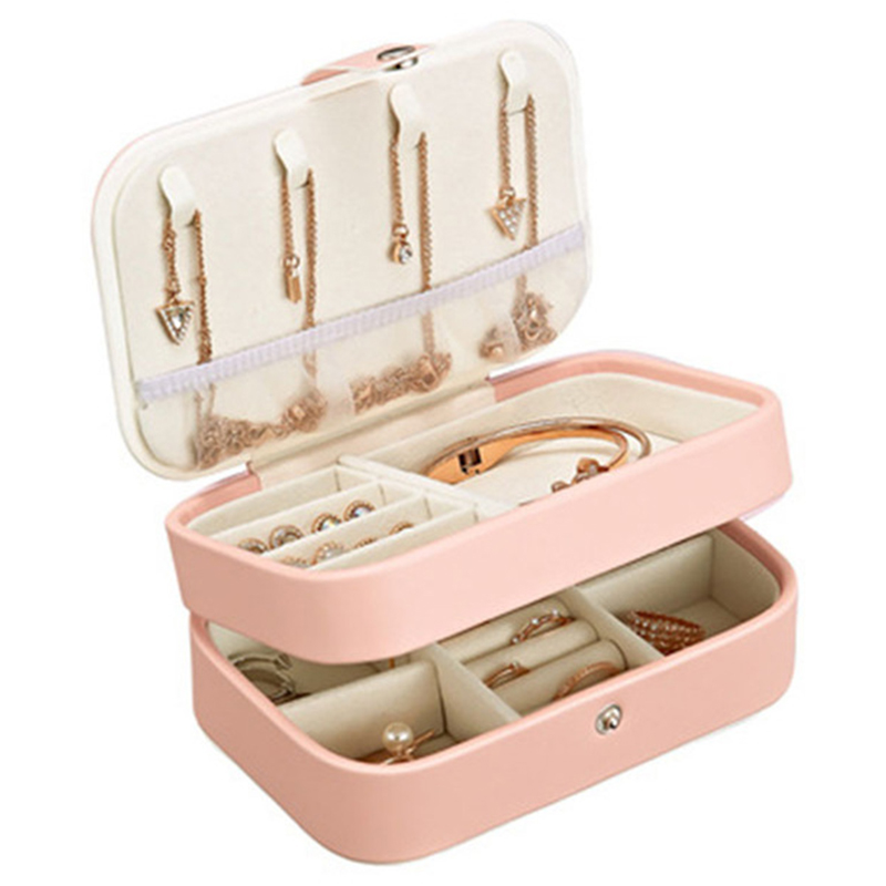 Portable Women Jewelry Box…