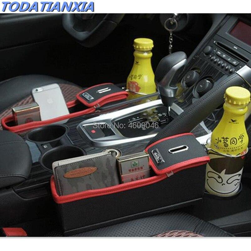 Accessoires de boîte de rangement pour siège auto pour focus mk3 renault megane 3 bmw e46 mitsubishi outlander toyota yaris w203 bmw e91