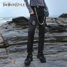 pantalon Deutwinstyle glissière basse