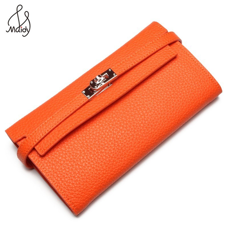 Luxury Women Famous Real Cowhide Leather Hasp Handbags High Quality Envelope Clutches Messenger Bags Clutch Wallets Brands Maidy