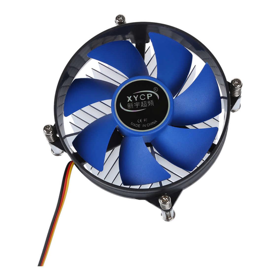 NEW-XYCP Bộ Vi Xử Lý Làm Mát CPU Tản Nhiệt cho 65 W Socket Intel LGA 1155/1156 Core i3/i5/i7 Xanh Dương