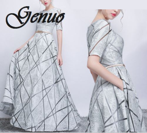 New Spring Summer Dress Women 2019 Elegant Formal Ball Gown Long Party Dress Female Casual Plus
