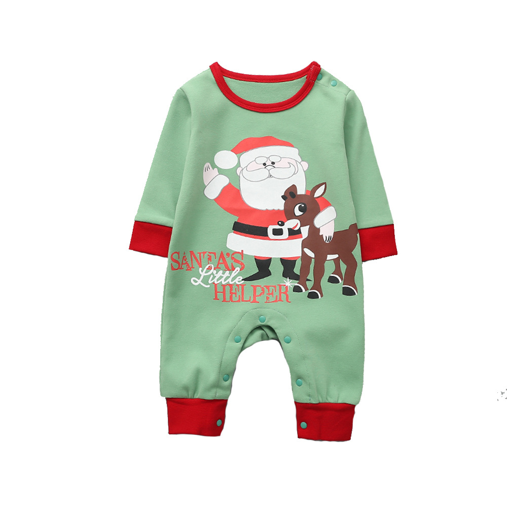 Unisex Baby Boys Girls Clothes Winter Autumn Rompers Infant Newborn Long Sleeve Christmas Thick Cotton Jumpsuits Bebe Clothes