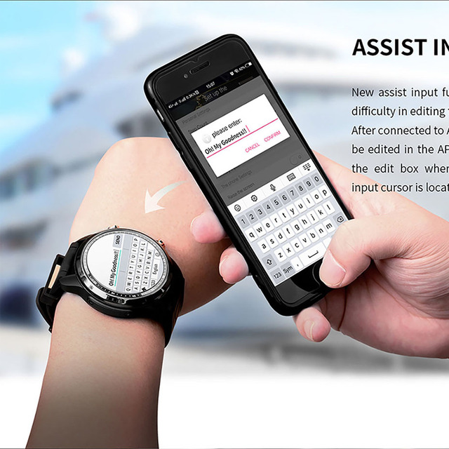 Android 6.0 Quad Core 4G Smart Watch 3