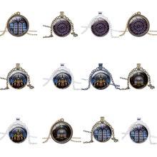 Нотр-Дам де Пари красивое ожерелье с подвеской Нотр-Дам де ожерелье из Парижа кулон ожерелье с бесплатной цепочкой кулон