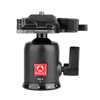 KINGJOY QB 0 Heavy Duty Photography Camera Tripod Ball Head 360 Degree Rotation Panoramic Ballhead with 1/4in Screw Quick Rele