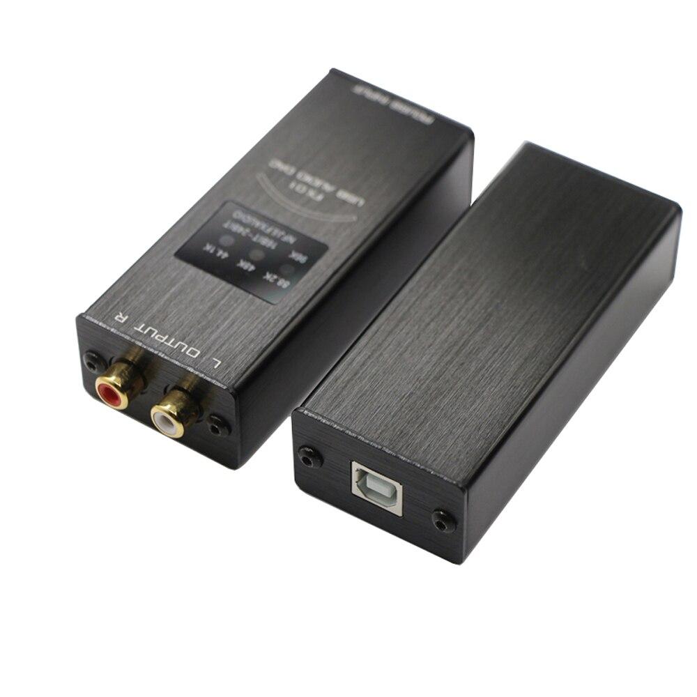 FX Audio FX 01 USB DAC sound card audio decoder sampling rate display SA9023 PCM5102 24BIT 96K