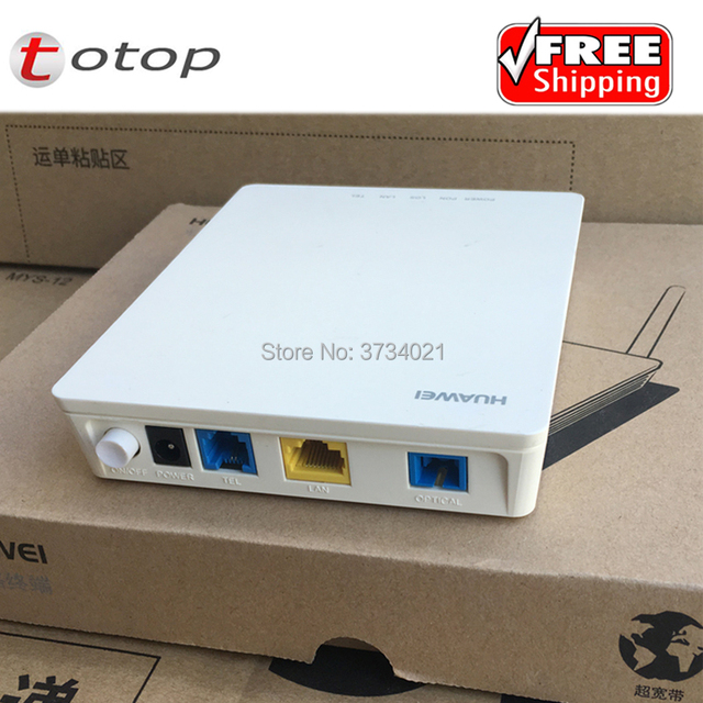 Huawei HG8311 GPON ONU 1 LAN + Voice Port Optical Network Terminal, English  Firmware H 248&SIP double protocol