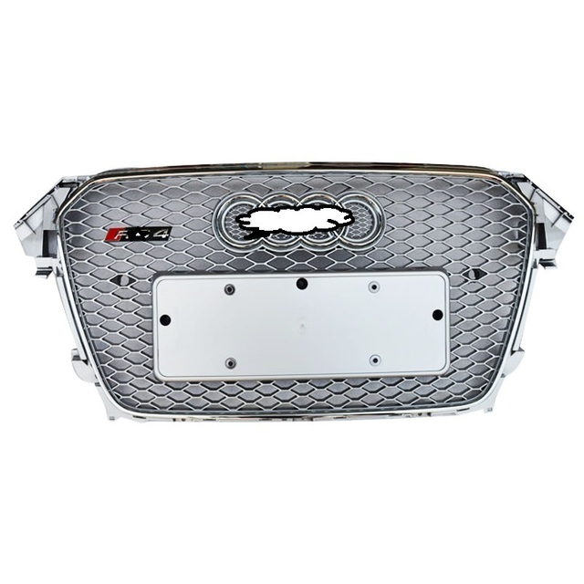 Car Styling Upgraded Automovil Grills Accessories Parts Front Net 05 06 07 08 09 10 11 12 13 14 15 16 17 18 19 FOR Audi A4L