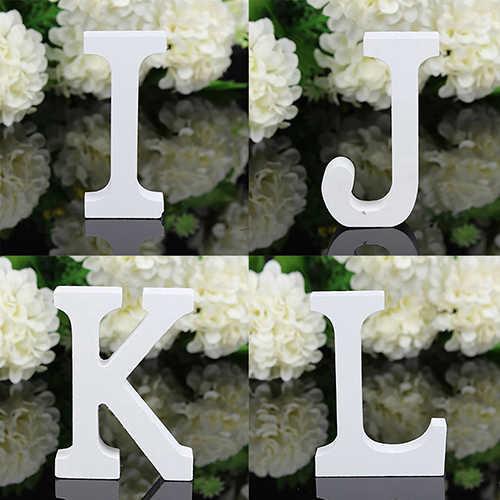 1 шт. украшение для дома большие деревянные буквы алфавита настенная Свадебная вечеринка домашний магазин деревянные буквы