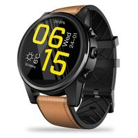 For Zeblaze THOR 4 PRO 4G SmartWatch Crystal Display GP GLONASS Quad Core 16GB 600mAh Hybrid Leather Straps Smart Watch For Men