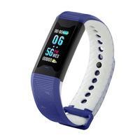 Unisex Digital Display Buckle Closure Smart Bracelet Health USB Charging Wristband 4h Chinese, English 2h IP67