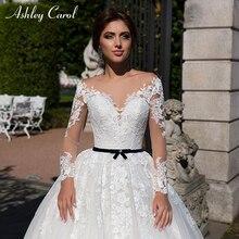 Ashley Carol Ball Gown Wedding Dress 2019 Bride Dresses