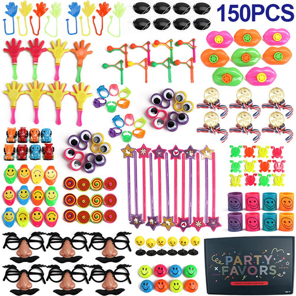 150Pcs Birthday Party Favors Toys Assortment Educational Toys For Kids Classroom Rewards Prizes Pinata Filler Puzzle