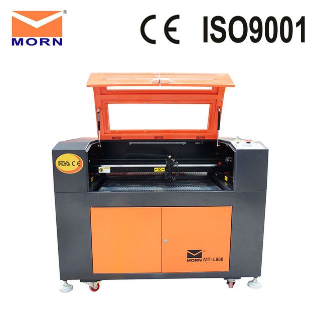 MORN Ruida CNC CO2 laser engraving cutting machine acrylic laser cutter machine MT-L960 with free CW3000 water chiller