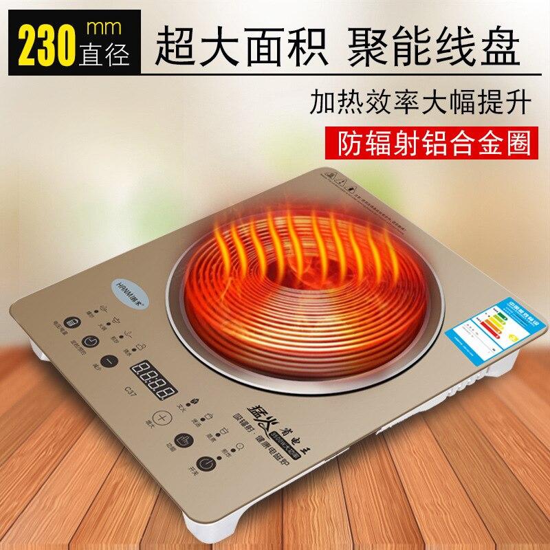 3500 Вт мини электрический нагреватель плита горячая плита молоко вода кофе Отопление печь Многофункциональный кухонный прибор ЕС вилка - 4