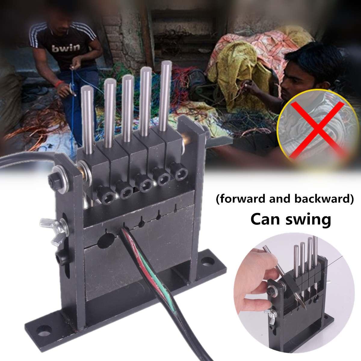 Manuel Fil Câble Décapage éplucheuse déchets de câbles Recyclage Outil dénudeur de fil de cuivre Pour 1-30mm Fil