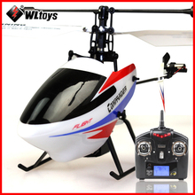 Wltoys V911-2 RC Helicopters 4CH 2.4GHz Gyroscope Electric Fly Helicopter Outdoor Toys LCD Display Remote Control Helicopter