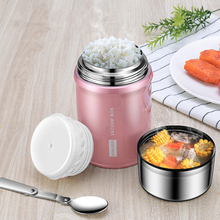 750/1000ml Thermos Container for Food Long Lasting Insulation Stainless Steel Termo Kid Adult School Office Lunchbox