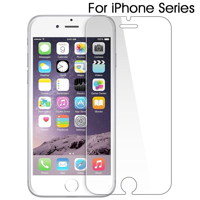 Tempered Glass for iPhone 6 7 8 X SE 6S 5S 5 4S Screen Protector Protective Glass for iPhone 6 6S 7 8 Plus XR XS MAX Glass FilmTempered Glass for iPhone 6 7 8 X SE 6S 5S 5 4S Screen Protector Protective Glass for iPhone 6 6S 7 8 Plus XR XS MAX Glass Film