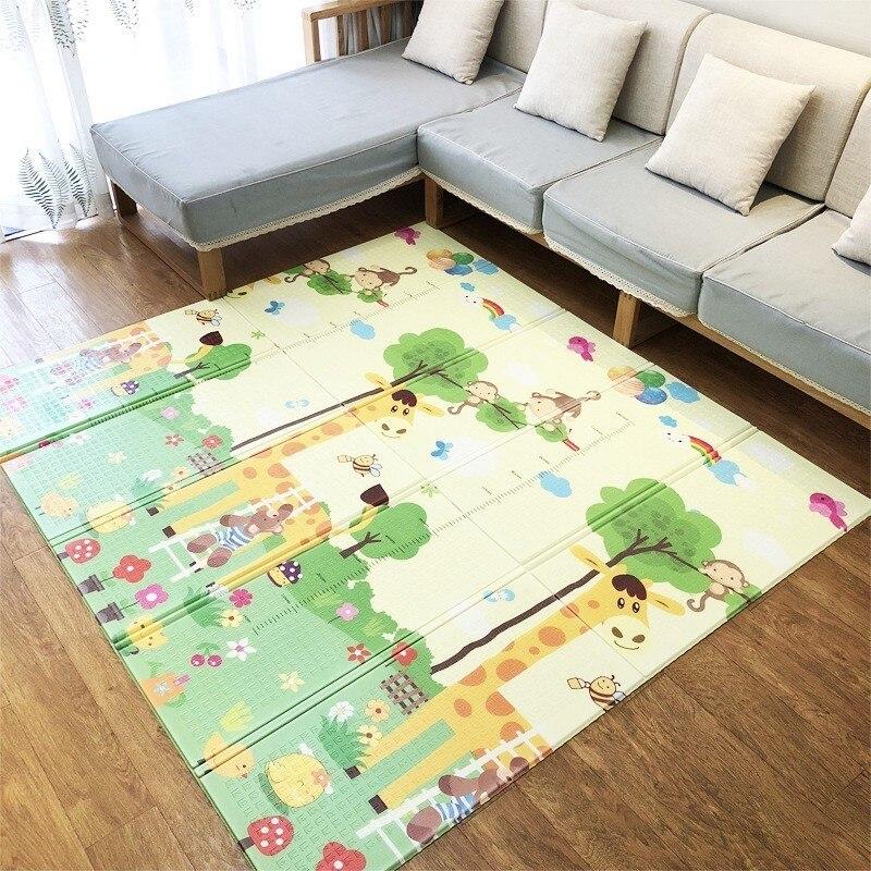 Bébé Tapis De Jeu Pour Children1.5CM Épais Activité Puzzle Mousse Tapis Bébé Activité Gym En Développement Tapis Tapete De Atividades Bebe