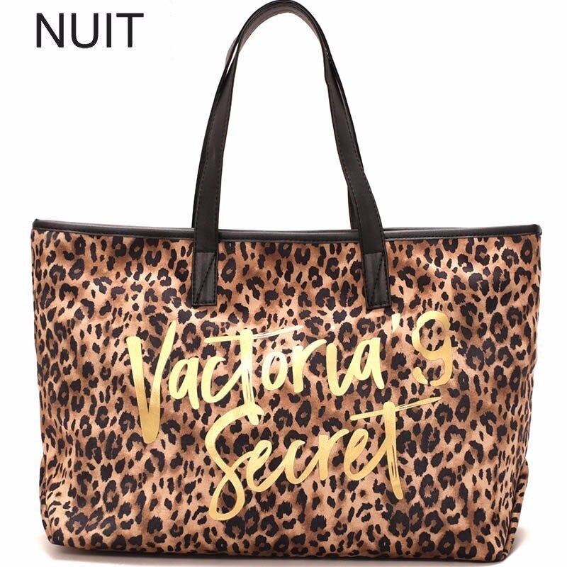 leopardo  Vintage mujer bolsos de mano de alta calidad PU de cuero