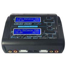 HTRC C240 DUO AC 150 W DC 240 W двухканальной 10A RC Баланс Липо Зарядное устройство-Горячие