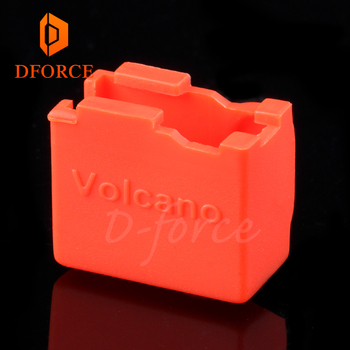DFORCE high quality cartridge heater bock silicone socks  Volcano socks for volcano heated block for volcano hotend nozzle volcano trek