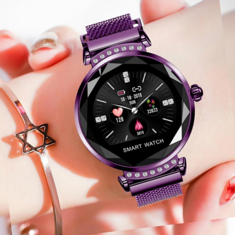 2019 New Smart Watches Bracelet Women Luxury Ladies