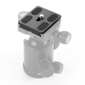 Image 5 - BGNing PU50 Quick Release Plate Tripod Ball Head Monopods with 1/4 inch Screw Universal for Benro Arca Swiss Tripod Ballhead