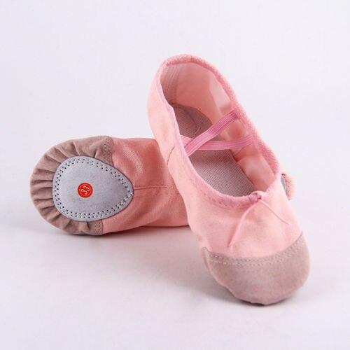 Größe 22-30 Kleine Mädchen Rosa Schwarz Ballett Dance Yoga Gymnastik Schuhe Split-sohle Baumwolle Kinder Schuhe Nette Weiche Pantoffel Zur Verbesserung Der Durchblutung
