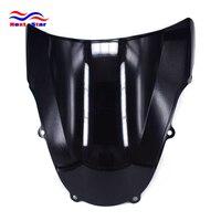Motorcycle ABS Black Plastic Windshield Windscreen For SUZUKI GSXR1000 GSXR 1000 2000 2002 2000 2001 2002