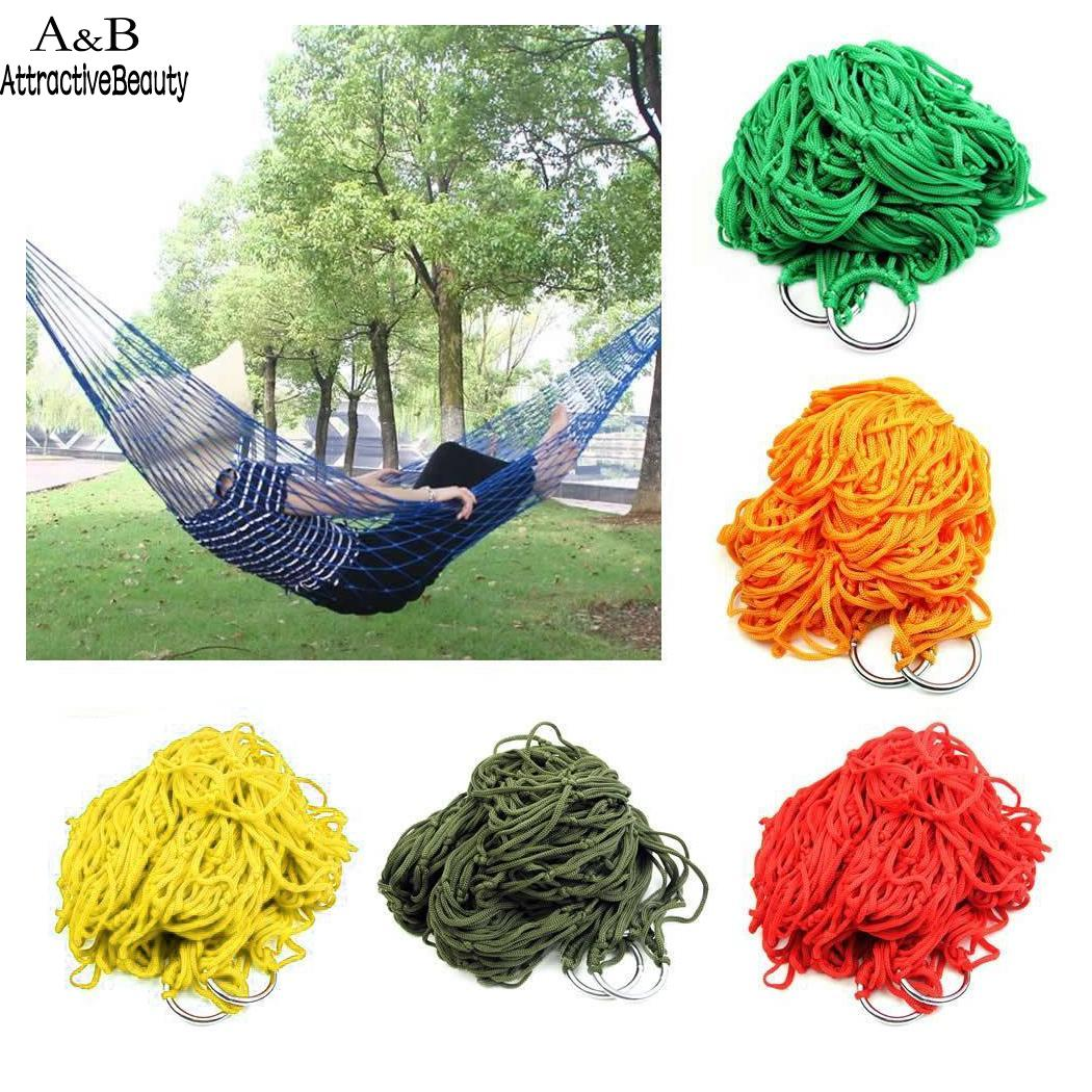 Camping Hammock Hiking 100 Hanging Travel Home Fashion Park Outdoor Tree etc Kg Outdoor Travel Portable Nylon MeshCamping Hammock Hiking 100 Hanging Travel Home Fashion Park Outdoor Tree etc Kg Outdoor Travel Portable Nylon Mesh