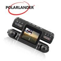 360 Degree Dash Cam Outside Inside both Recording Left 1080P Right 480P i4000 Car DVR Dual Lens Driving Video Recorder
